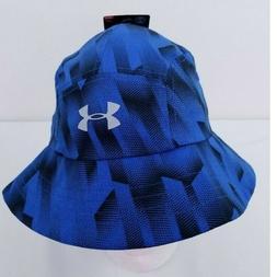 NWT BOYS UNDER ARMOUR UA BUCKET OR WARRIOR HAT BLUE 19008518