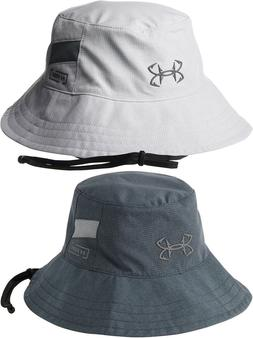 NWT Under Armour Men ArmourVent Thermocline Bucket Hat Fish