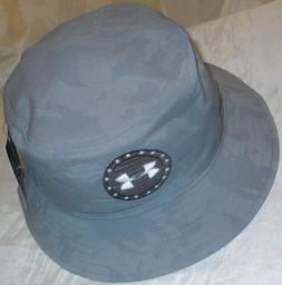 nwt men freedom performance heatgear bucket hat