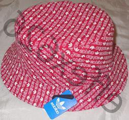 NWT Adidas Men's Monogram Bucket Boonie Hat Retro Emo Hip Ho