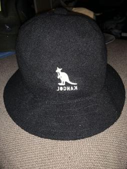 NWT Men's Kangol BERMUDA CASUAL Bucket Hat Black Sz XL