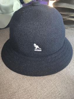 NWT Men's Kangol WOOL CASUAL Bucket Hat Black Sz XL