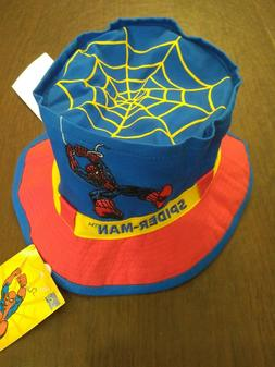 NWT! Spiderman Movie Marvel Toddler Boys Bucket Summer Hat C