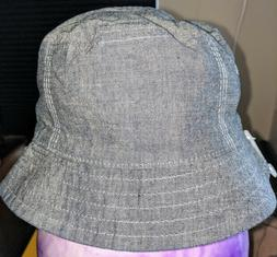 nwt toddler blue chambray bucket hat 12