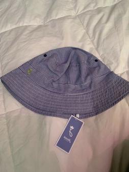 NWT Twins Boys Jacadi Size Small Blue Bucket Hat