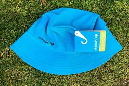 NWT COLUMBIA W SILVER RIDGE BUCKET II CAP HAT WOMENS Blue L/
