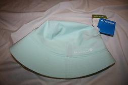 NWT COLUMBIA W SILVER RIDGE BUCKET II CAP HAT WOMENS GREEN~S