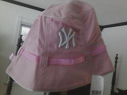 NY YANKEES HAT  Bucket New Era  Pale  Pink MLB New York Yank