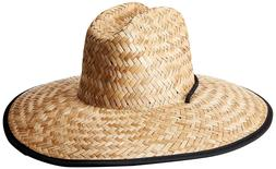 O'Neill Men's Sonoma Straw Lifeguard Hat Natural One Size ON