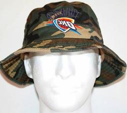 Oklahoma City Thunder Adidas NBA Bucket Hat - Camouflage