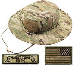 Operator Boonie Hat Bundle & Patches - USA/DTOM Multitan
