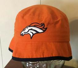Orange Denver Broncos Hat Boys 4-7 Kids NFL Bucket Hat Footb