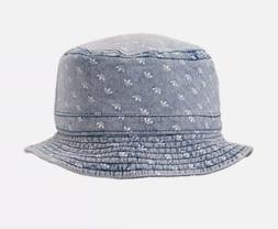 Adidas Originals Denim Allover Print Bucket Hat