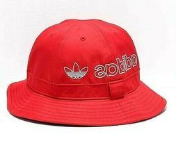 adidas Originals Unisex Bell Bucket Scarlet Red Hat OSFA Bra