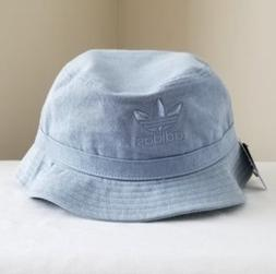 adidas Originals Washed Bucket Hat Tactile Blue Embroidered
