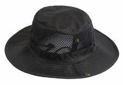 Panegy Outdoor Big-brimmed Mesh Boonie Cap Cowboy Bucket Hat