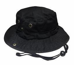 Mega Caps Outdoor Boonie Bucket Fishing Hat Hiking Cap
