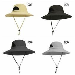outdoor men women wide brim bucket cap