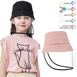 Outdoor Protective Cap Windproof Bucket Hat Fisherman Hat wi