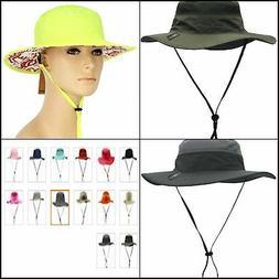 Camo Coll Outdoor UPF 50+ Boonie Hat Summer Sun Caps 100% po