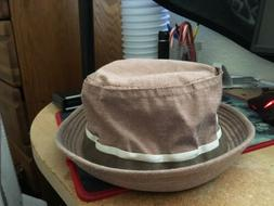 stetson Oxford Crushable Cotton Twill Hat Bucket Hat Size X