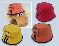 pacific bright color children bucket style hats