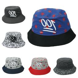 Paisley Bucket Hat Star Hats Fashion Cotton Cap Casual Caps
