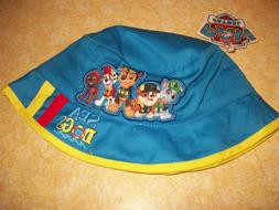 Paw Patrol Toddler Boys Blue Summer Bucket Sun Hat - OSFM-