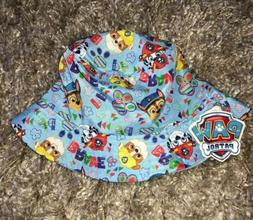 PAW PATROL Toddler Boys Blue/Yellow  Bucket Style Sun Beach