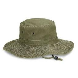 pigment dyed bucket fisherman hat with string
