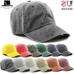Cotton Hat - The Hat Depot Pigment Dyed Low Profile Cotton B