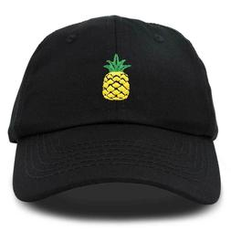 DALIX Pineapple Dad Hat Soft Cotton Twill Baseball Cap Premi
