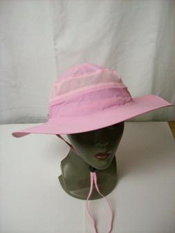 """""""Outfly"""" pink 'Camo Coll' polyester hat NWT"""