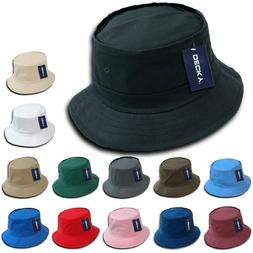 plain blank fisherman s bucket hat