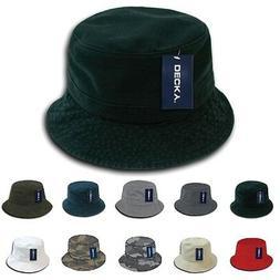 DECKY Plain Blank Fisherman's Polo Bucket Hat 961