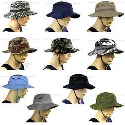 Plain Bucket Hat Military Specs Boonie Cap Wide Brim Thick 1
