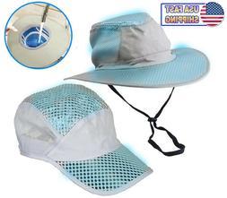 Polar Hydro Evaporative Cooling Hat UV Reflective Protection