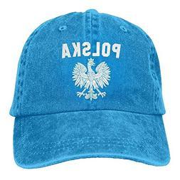 Polish Eagle Polska Low Profile Plain Baseball Cap Dad Hat S