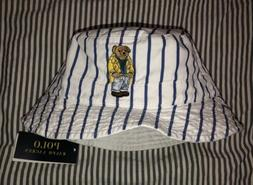 Polo Ralph Lauren S/M Reversible Bucket Hat Bear Crest Unise