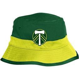 Portland Timbers adidas Bucket Hat - Yellow/Green