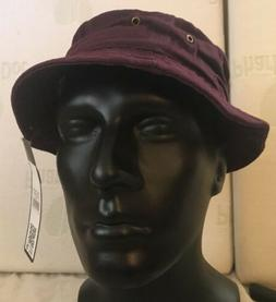 Purple Bucket Hat Fishing Cap Hip hop Unisex Size L XL Summe