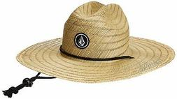 Volcom QUARTER STRAW HAT Size L/XL Color NATURAL