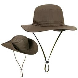 Quick Dry Booney Hat UV Protection Boonie Hunting Fishing Sa
