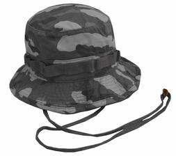 Rapiddominance Military Camouflage Bucket Hat With Chin Cord