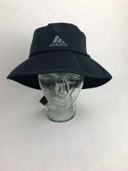 Rare Adidas Climastorm Bucket Hat Golf Hat Black/Gray L/XL B