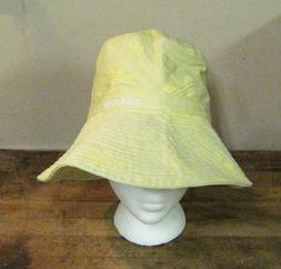 RARE ~ WOMENS ADIDAS YELLOW BEACH POOL SUN ADVENTURE HAT ~ N