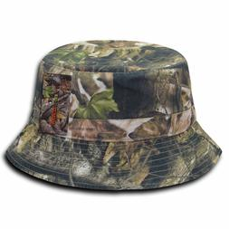 Decky Relaxed Camouflage Hybricam 100% Cotton Bucket Hats Un