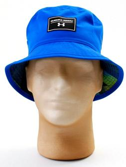 Under Armour Reversible Blue Bucket Hat Youth Boy's 8-20 One