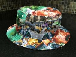 Akoo Reversible Bucket-Hat Grand Prix
