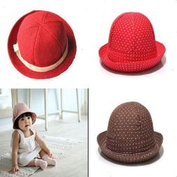 Reversible Cotton Vintage Bow-knot Bucket Sun Hat For Newbor